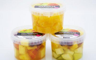 Fruta preparada en almíbar. Dudas