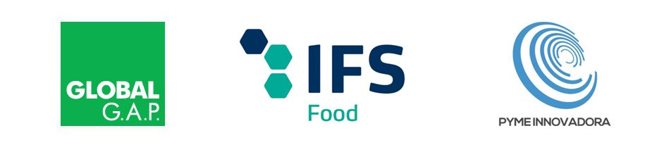 Logotipos certificados seguridad alimentaria