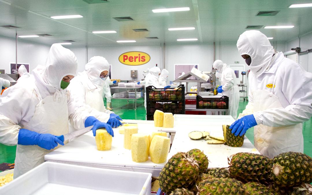 Certificados calidad empresa agroalimentaria renovados. Vicente Peris: seguridad alimentaria