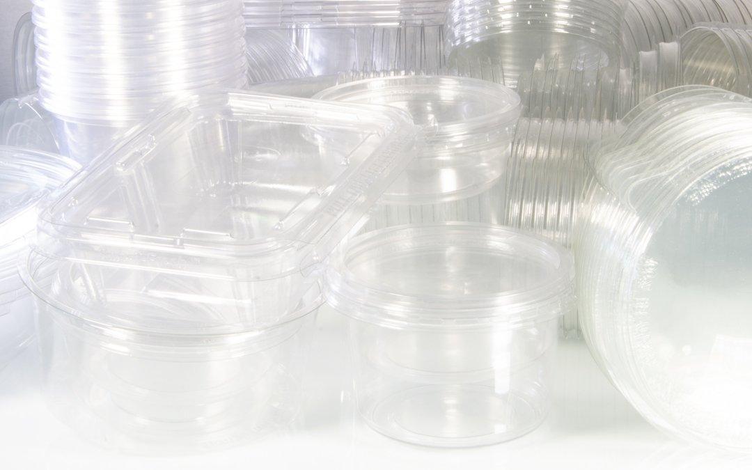 Envases de plástico PET