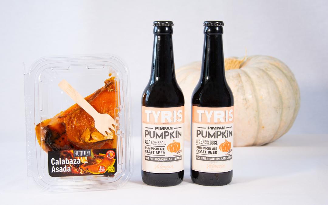 Nuestra calabaza de variedad tradicional, ingrediente de la cerveza Pimpam Pumpkin de Tyris