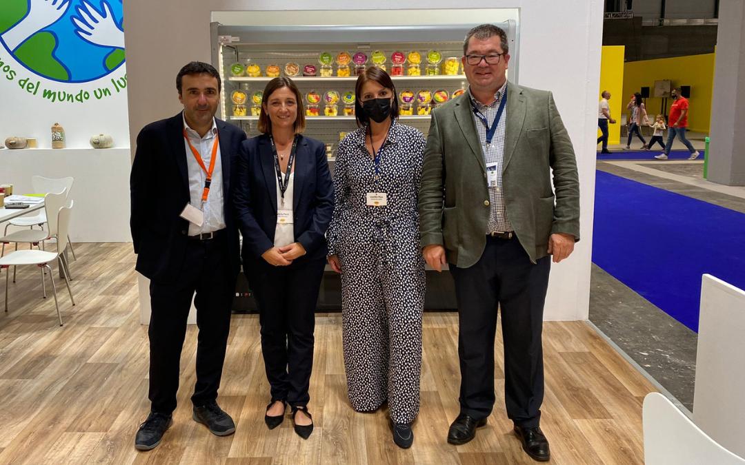 Dando lo mejor de Peris como proveedores de frutas y verduras de calidad en Fruit Attraction 2021